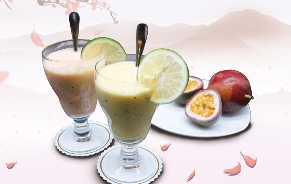 Passion Fruit Flavored Milkshake Promotion